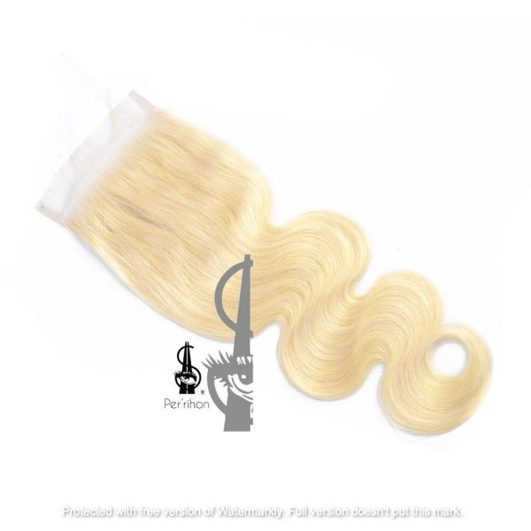 613 Indian Human Hair Weave Closure